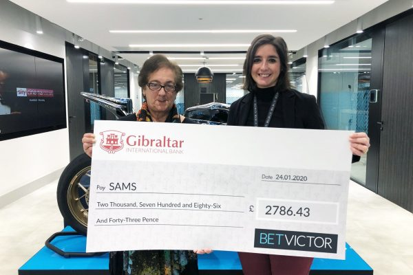 Donation by BetVictor