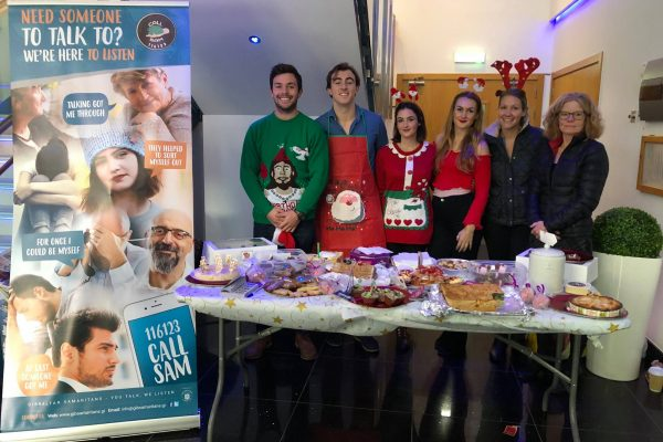 Charity cake stall by Southern Rock Insurance