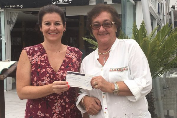 Donation by Westside School who celebrated 'Mental Health Week' with various activities