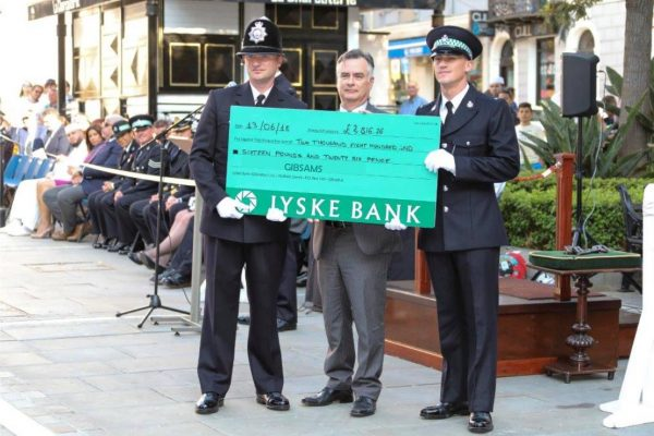 Donation by the RGP & GDP Recruits