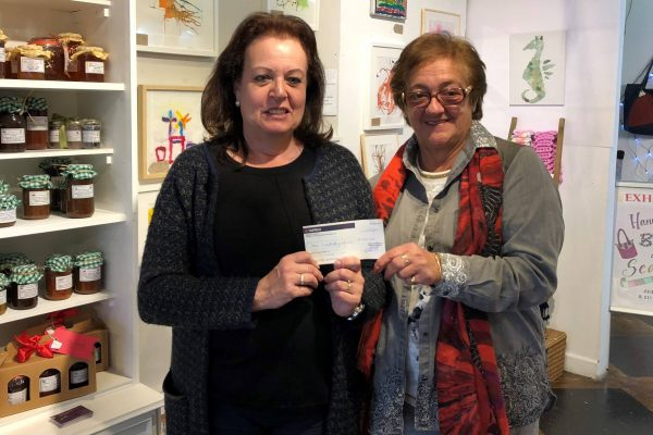 Family member of Mrs Azzopardi who at the age of 91 years asked her family to give money instead of a present so she could donate to GibSams.