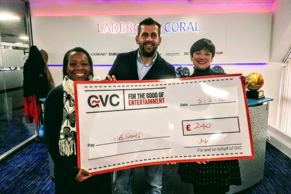 Donation by GVC
