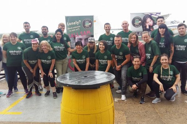 GibSams Charity Skydive Participants
