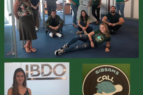 GibSams Green Friday with staff of BDO