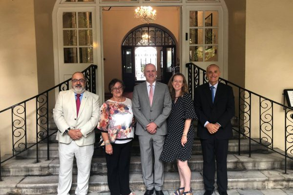 GibSams Trustees with GibSams Patron His Excellency  Lt General Ed Davis