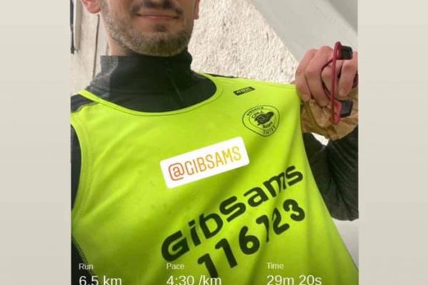 Steve completed a challenge of running 4 miles every 4 hours for 48 hours to raise Mental Health Awareness.